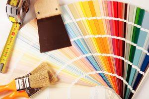 Peinture pour l'intérieur - nuancier outils
